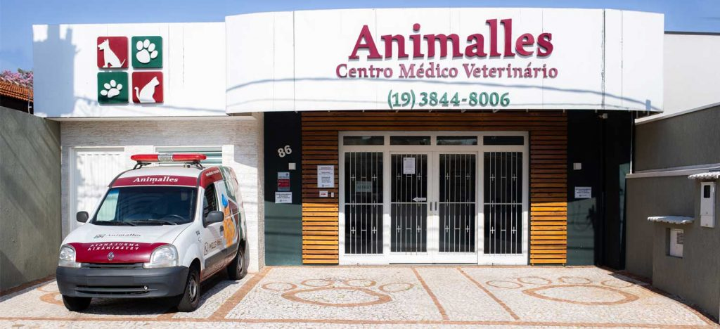 Fachada Animalles Centro Médico Veterinário